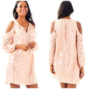 New Lilly Pulitzer Marlyse Cold Shoulder Dress